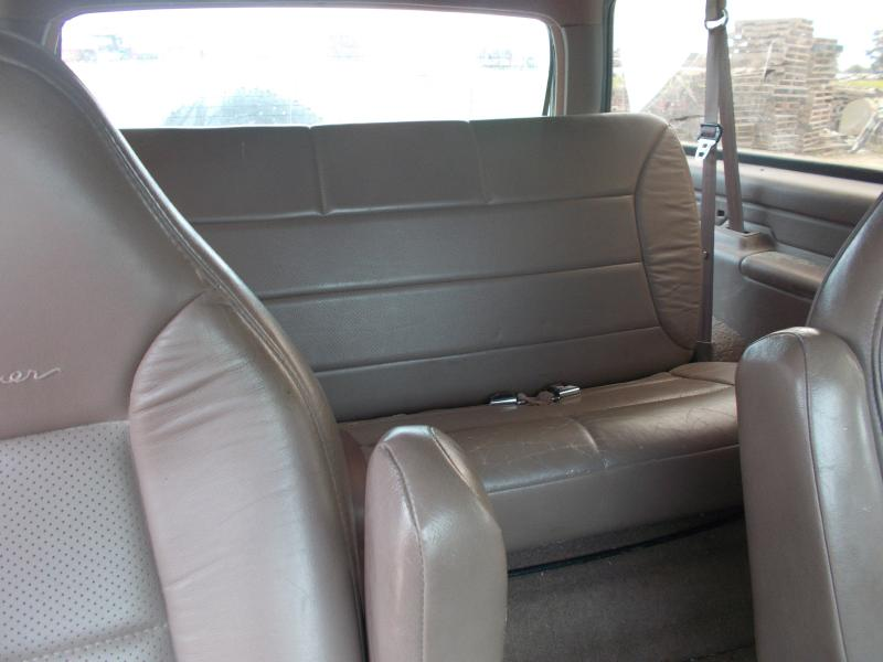 Rear Seat Belt Assembly Ford Bronco Full Size LH,REAR RETRACTOR,2DR,TAN INT  A 013920 $45 Sandhill Auto Salvage   QRP Central USA IA(Tama) Request_Quote  ...